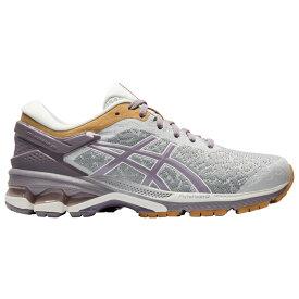 アシックス ASICS レディース ランニング・ウォーキング シューズ・靴【GEL-Kayano 26】Glacier Grey/Lavender Grey Urban Explorer Pack