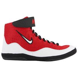 ナイキ Nike メンズ レスリング シューズ・靴【Inflict 3】Red/White