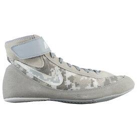 ナイキ Nike メンズ レスリング シューズ・靴【Speedsweep VII】Camoflauge Pure Platinum/Wolf Grey/White