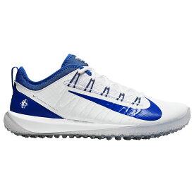 ナイキ Nike メンズ ラクロス シューズ・靴【Alpha Huarche 7 Pro Turf LAX】White/Game Royal