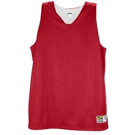 イーストベイ Eastbay レディース バスケットボール タンクトップ トップス【Basic Reversible Mesh Tank】Scarlet/White