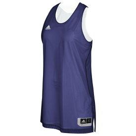 アディダス adidas レディース バスケットボール トップス【Team Crazy Explosive Reversbile Jersey】Collegiate Purple/White