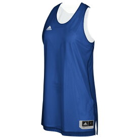 アディダス adidas レディース バスケットボール トップス【Team Crazy Explosive Reversbile Jersey】Collegiate Royal/White
