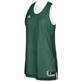 アディダス adidas レディース バスケットボール トップス【Team Crazy Explosive Reversbile Jersey】Dark Green/White