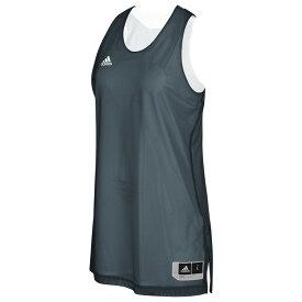 アディダス adidas レディース バスケットボール トップス【Team Crazy Explosive Reversbile Jersey】Onix/White