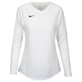 ナイキ Nike レディース バレーボール トップス【Team Agility Jersey】White/White/Black