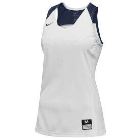 ナイキ Nike レディース バスケットボール トップス【Team Elite Stock Jersey】White/Navy