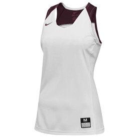 ナイキ Nike レディース バスケットボール トップス【Team Elite Stock Jersey】White/Dark Maroon