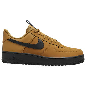 ナイキ Nike メンズ バスケットボール エアフォースワン シューズ・靴【Air Force 1 Low】Wheat/Black/Midnight Navy