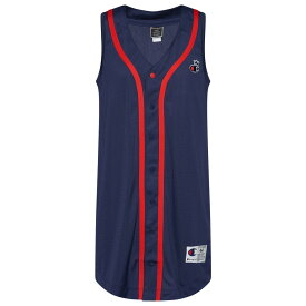 チャンピオン Champion レディース 野球 トップス【Mesh Baseball Dress】Imperial Indigo