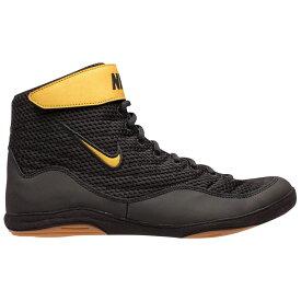 ナイキ Nike メンズ レスリング シューズ・靴【Inflict 3】Black/Gold/Black Limited Edition
