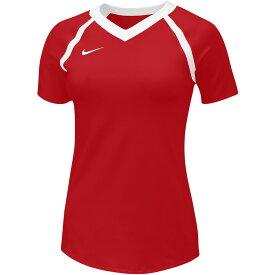ナイキ Nike レディース バレーボール トップス【Team Agility Jersey】Team Scarlet/White/White