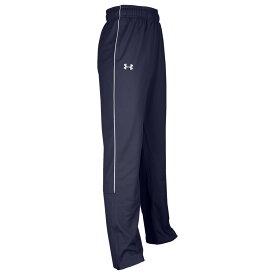 アンダーアーマー Under Armour メンズ フィットネス・トレーニング ボトムス・パンツ【Team Rival Knit Warm-Up Pants】Navy/White