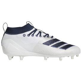 アディダス adidas メンズ アメリカンフットボール シューズ・靴【adiZero 8.0】White/Collegiate Navy