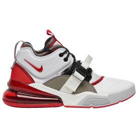 ナイキ Nike メンズ バスケットボール エアフォース シューズ・靴【Air Force 270】Summit White/University Red