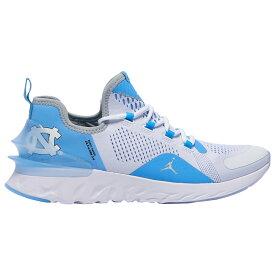 ナイキ ジョーダン Jordan メンズ フィットネス・トレーニング シューズ・靴【React Havoc】NCAA North Carolina Tar Heels White/Metallic Silver/University Blue