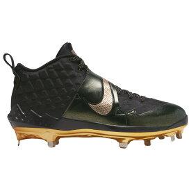 ナイキ Nike メンズ 野球 シューズ・靴【Force Zoom Trout 6】Black/Metallic Gold