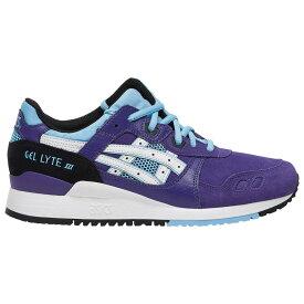 アシックス ASICS Tiger レディース ランニング・ウォーキング シューズ・靴【GEL-Lyte III】Gentry Purple/White