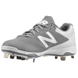 ニューバランス New Balance レディース 野球 シューズ・靴【4040v1 Metal Low】Grey/White