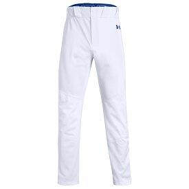 アンダーアーマー Under Armour メンズ 野球 ボトムス・パンツ【Ace Relaxed Piped Pants】White/Royal/Royal