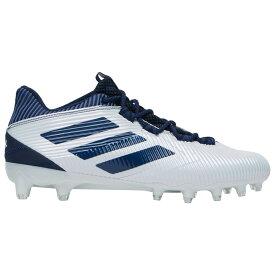 アディダス adidas メンズ アメリカンフットボール シューズ・靴【Freak Low】White/Collegiate Navy/White