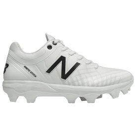 ニューバランス New Balance メンズ 野球 シューズ・靴【4040v5 TPU Low】White/White