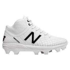 ニューバランス New Balance メンズ 野球 シューズ・靴【4040v5 TPU Mid】White/White