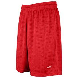 """イーストベイ Eastbay レディース バスケットボール ショートパンツ ボトムス・パンツ【8"""" Basic Mesh Shorts】Scarlet"""