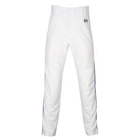 アンダーアーマー Under Armour メンズ 野球 ボトムス・パンツ【Utility Relaxed Piped Pants】White/Royal/Royal