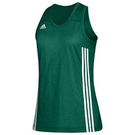 アディダス adidas レディース バスケットボール トップス【Team 3G Speed Reversible Jersey】Dark Green/White