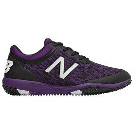 ニューバランス New Balance メンズ 野球 シューズ・靴【4040v5 Turf】Black/Purple