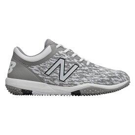 ニューバランス New Balance メンズ 野球 シューズ・靴【4040v5 Turf】Grey/White