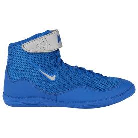 ナイキ Nike メンズ レスリング シューズ・靴【Inflict 3】Royal/Metallic Silver/White Limited Edition