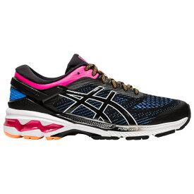 アシックス ASICS レディース ランニング・ウォーキング シューズ・靴【GEL-Kayano 26】Black/Blue Coast/Pink