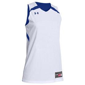 アンダーアーマー Under Armour レディース バスケットボール トップス【Team Clutch Reversible Jersey】Team Royal/White