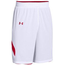 アンダーアーマー Under Armour レディース バスケットボール ショートパンツ ボトムス・パンツ【Team Clutch Reversible Shorts】Team Red/White