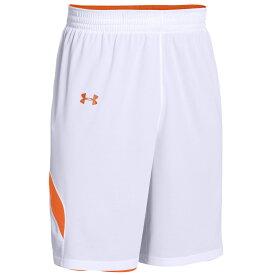 アンダーアーマー Under Armour レディース バスケットボール ショートパンツ ボトムス・パンツ【Team Clutch Reversible Shorts】Team Orange/White