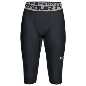 アンダーアーマー Under Armour メンズ バスケットボール タイツ・スパッツ スパッツ・レギンス ボトムス・パンツ【Baseline Knee Tights】Black/White