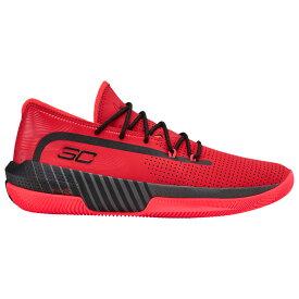 アンダーアーマー Under Armour メンズ バスケットボール シューズ・靴【SC 3Zero III】Stephen Curry Red/Jet Grey/Black