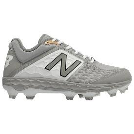 ニューバランス New Balance メンズ 野球 シューズ・靴【3000v4 TPU Low】Grey/White