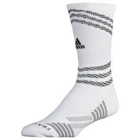 アディダス adidas ユニセックス バスケットボール 【Speed Mesh Team Crew Socks】White/Grey/Light Onix/Black