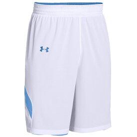 アンダーアーマー Under Armour レディース バスケットボール ショートパンツ ボトムス・パンツ【Team Clutch Reversible Shorts】Team Carolina Blue/White