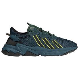 アディダス adidas Originals メンズ ランニング・ウォーキング シューズ・靴【Pusha T Ozweego】Tech Mineral/Dark Green/Semi Solar Yellow