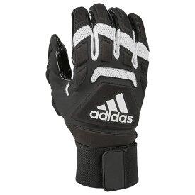 アディダス adidas メンズ アメリカンフットボール ラインマングローブ グローブ【Freak Max 2.0 Lineman Gloves】Black/White