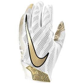 ナイキ Nike メンズ アメリカンフットボール グローブ【Vapor Knit 3.0 Football Gloves】White/Metallic Gold/Black/Metallic Gold