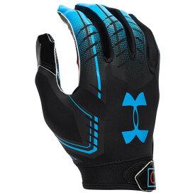 アンダーアーマー Under Armour メンズ アメリカンフットボール レシーバーグローブ グローブ【F6 Receiver Gloves】Black/Capri Always Open