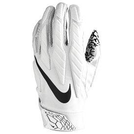ナイキ Nike メンズ アメリカンフットボール グローブ【Superbad 5.0 Football Gloves】White/White/Black
