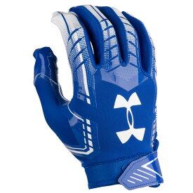 アンダーアーマー Under Armour メンズ アメリカンフットボール グローブ【F6 Football Gloves】Royal/White
