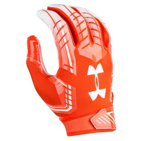 アンダーアーマー Under Armour メンズ アメリカンフットボール グローブ【F6 Football Gloves】Orange/White