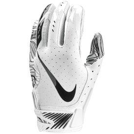 ナイキ Nike メンズ アメリカンフットボール グローブ【Vapor Jet 5.0 Football Gloves】White/White/Black White Pack